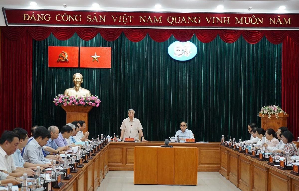 Tong Bi thu: Chuan bi va tien hanh that tot Dai hoi XIII cua Dang hinh anh 2