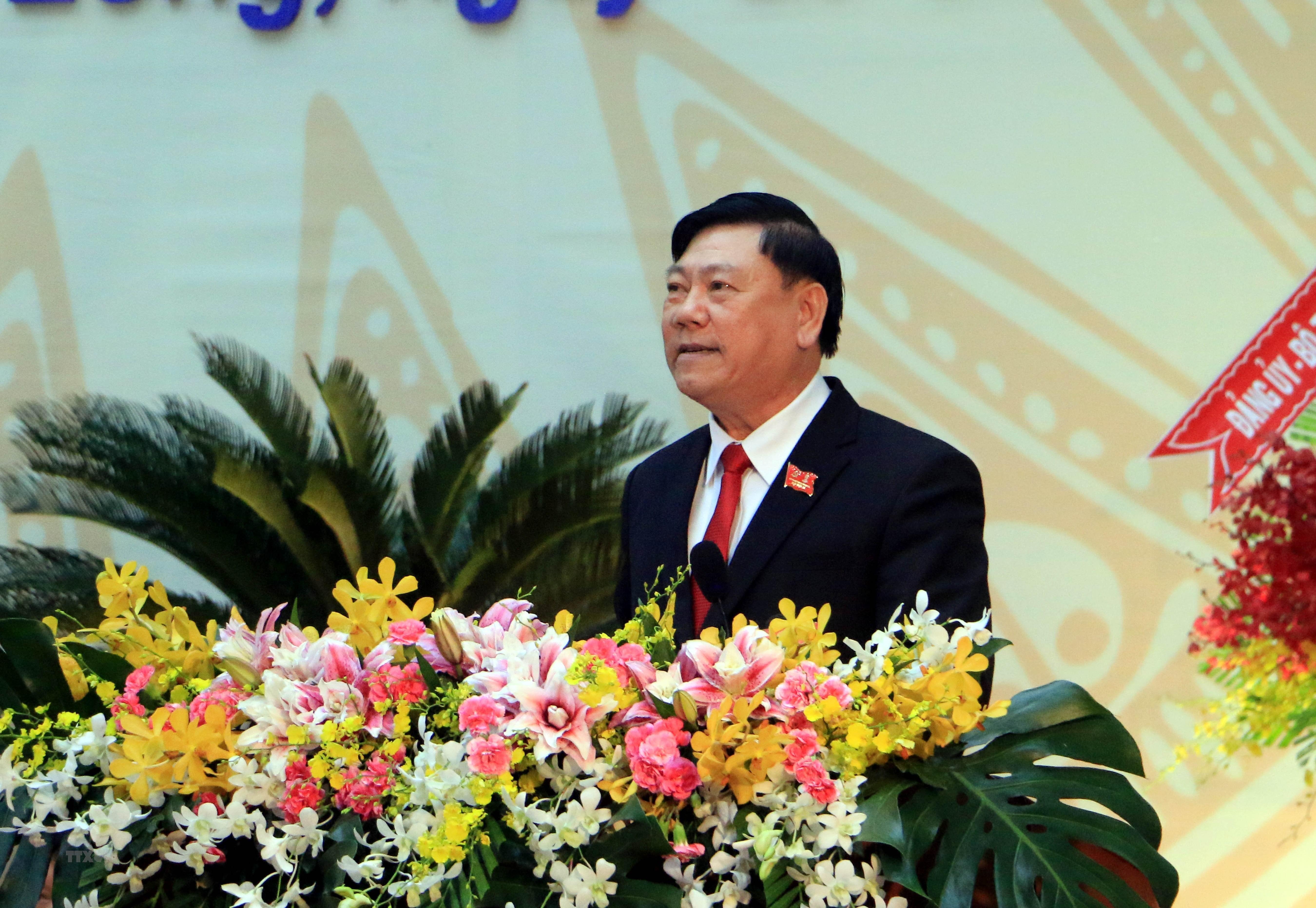 [Photo] Khai mac Dai hoi Dang bo tinh Vinh Long nhiem ky 2020-2025 hinh anh 8