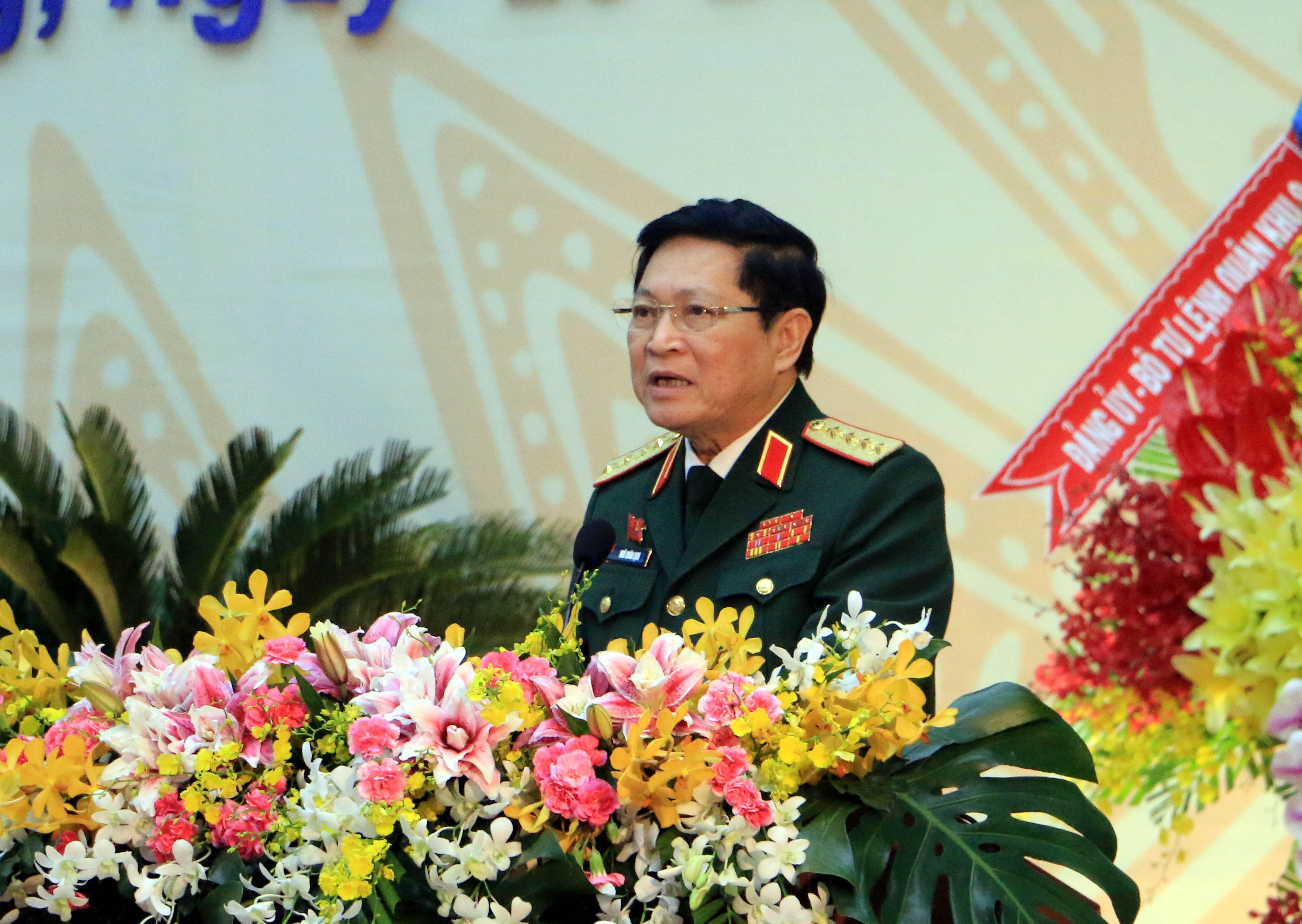 [Photo] Khai mac Dai hoi Dang bo tinh Vinh Long nhiem ky 2020-2025 hinh anh 9