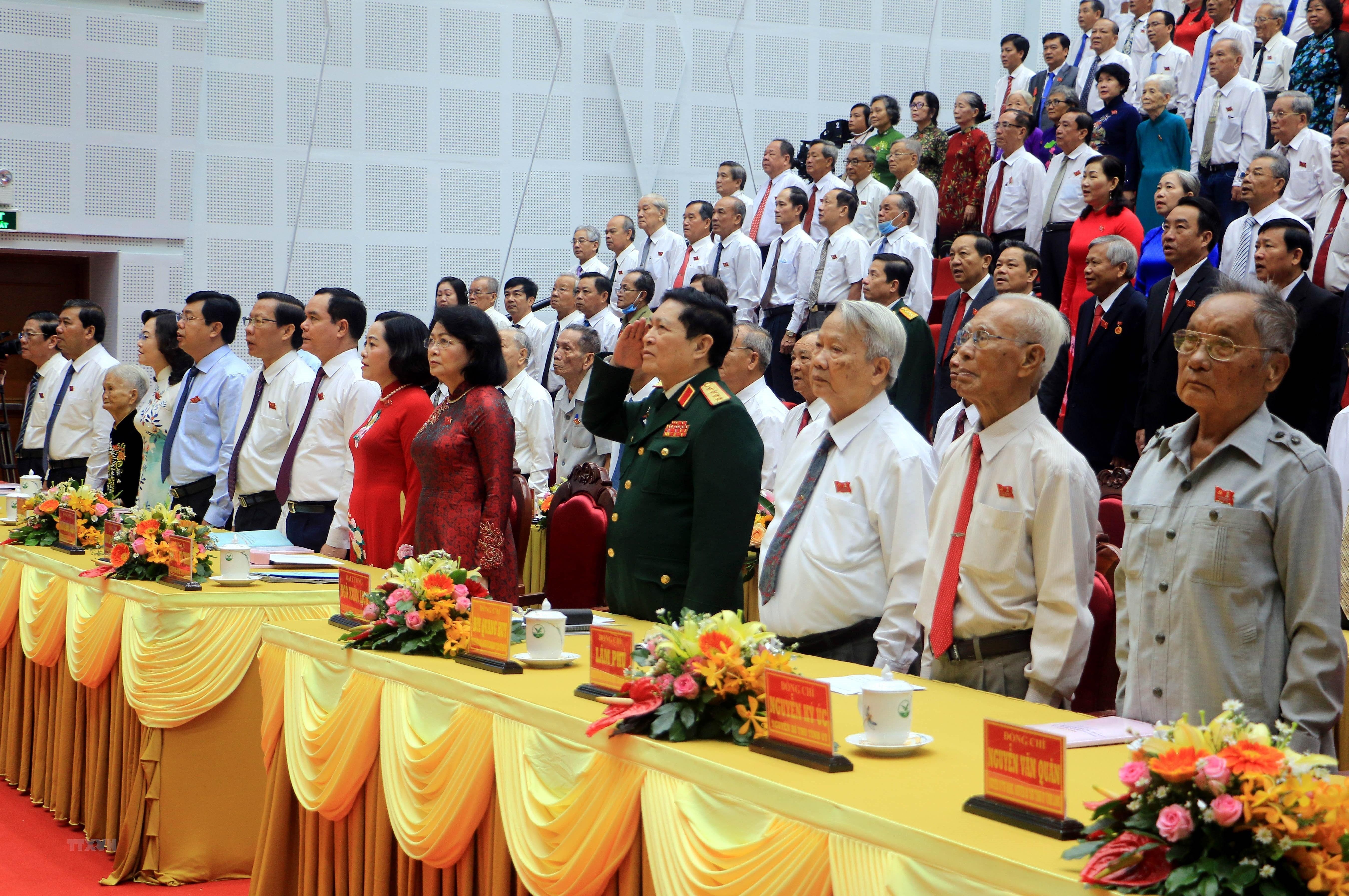 [Photo] Khai mac Dai hoi Dang bo tinh Vinh Long nhiem ky 2020-2025 hinh anh 5