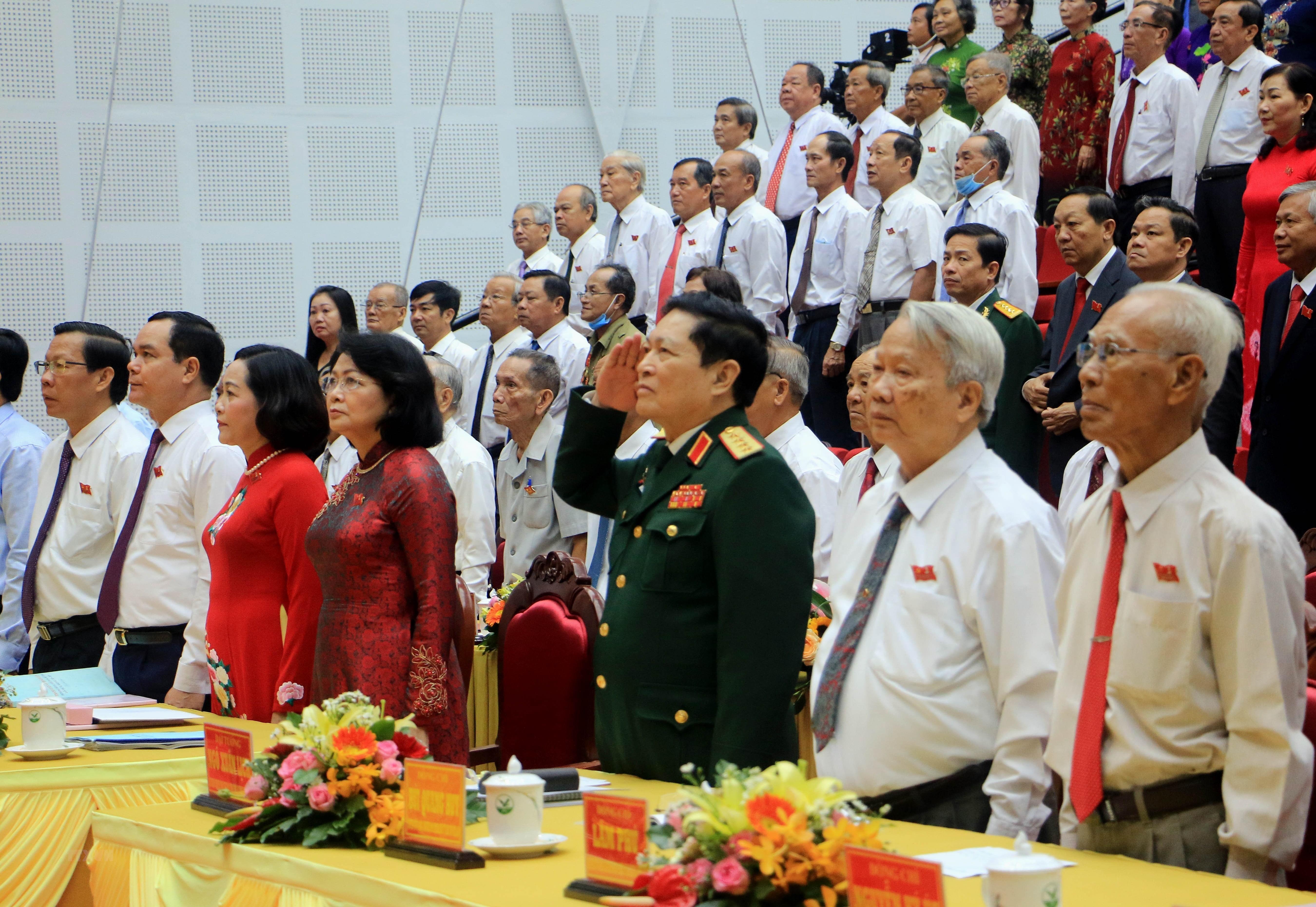 [Photo] Khai mac Dai hoi Dang bo tinh Vinh Long nhiem ky 2020-2025 hinh anh 6