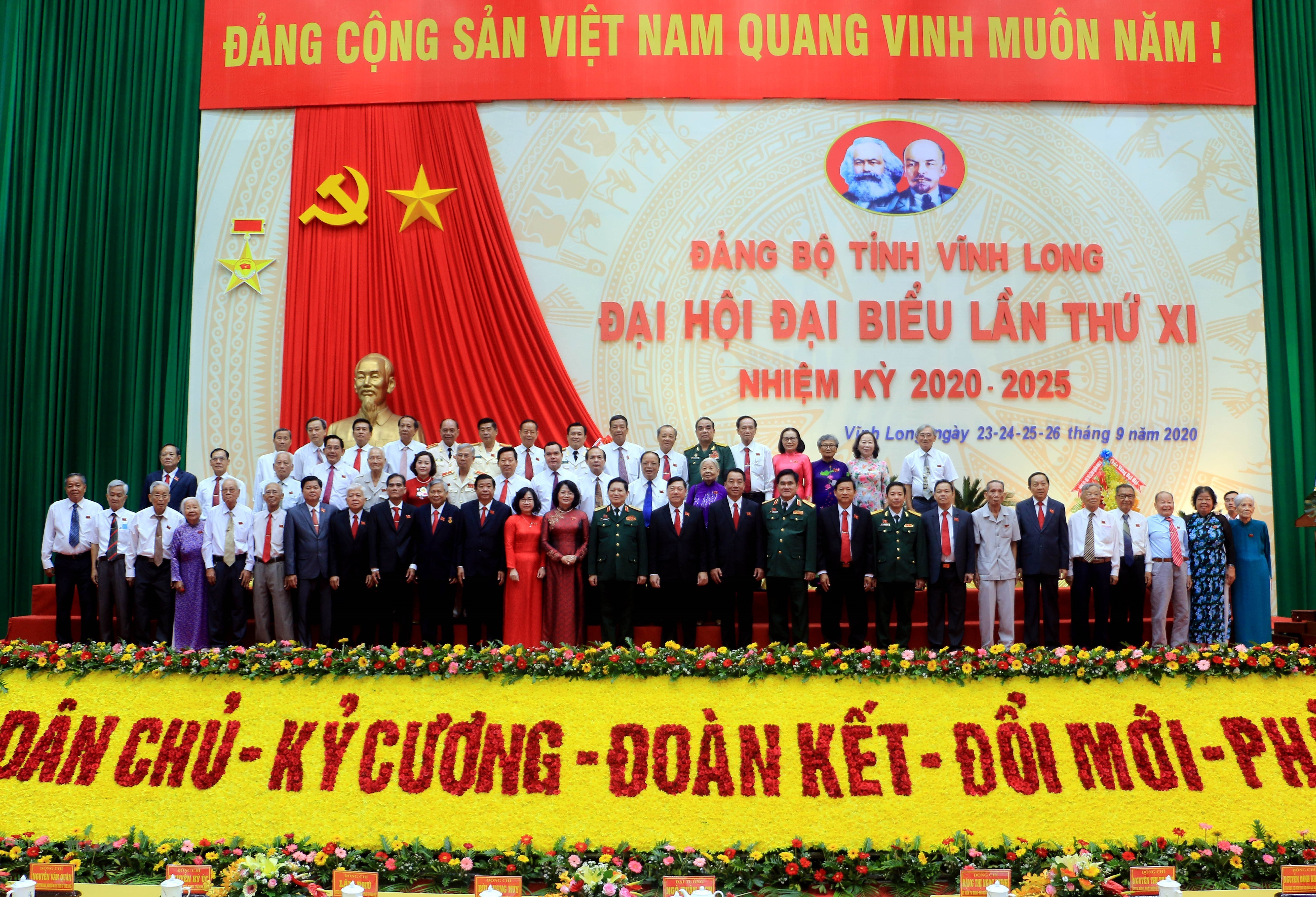 Khai mac Dai hoi Dai bieu Dang bo tinh Vinh Long nhiem ky 2020-2025 hinh anh 1