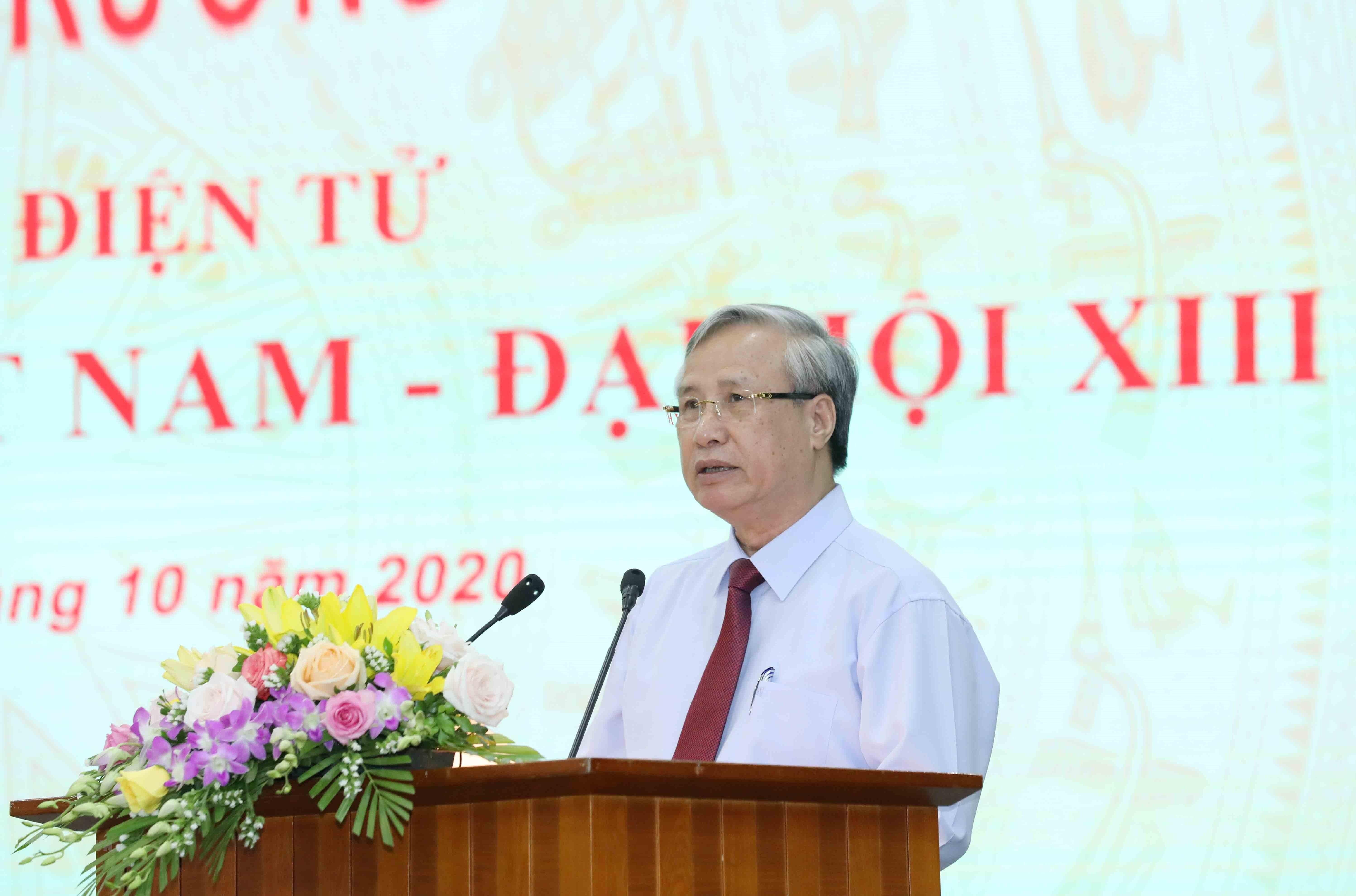 "Khai truong Trang tin dien tu ""Dang Cong san Viet Nam- Dai hoi XIII"" hinh anh 2"