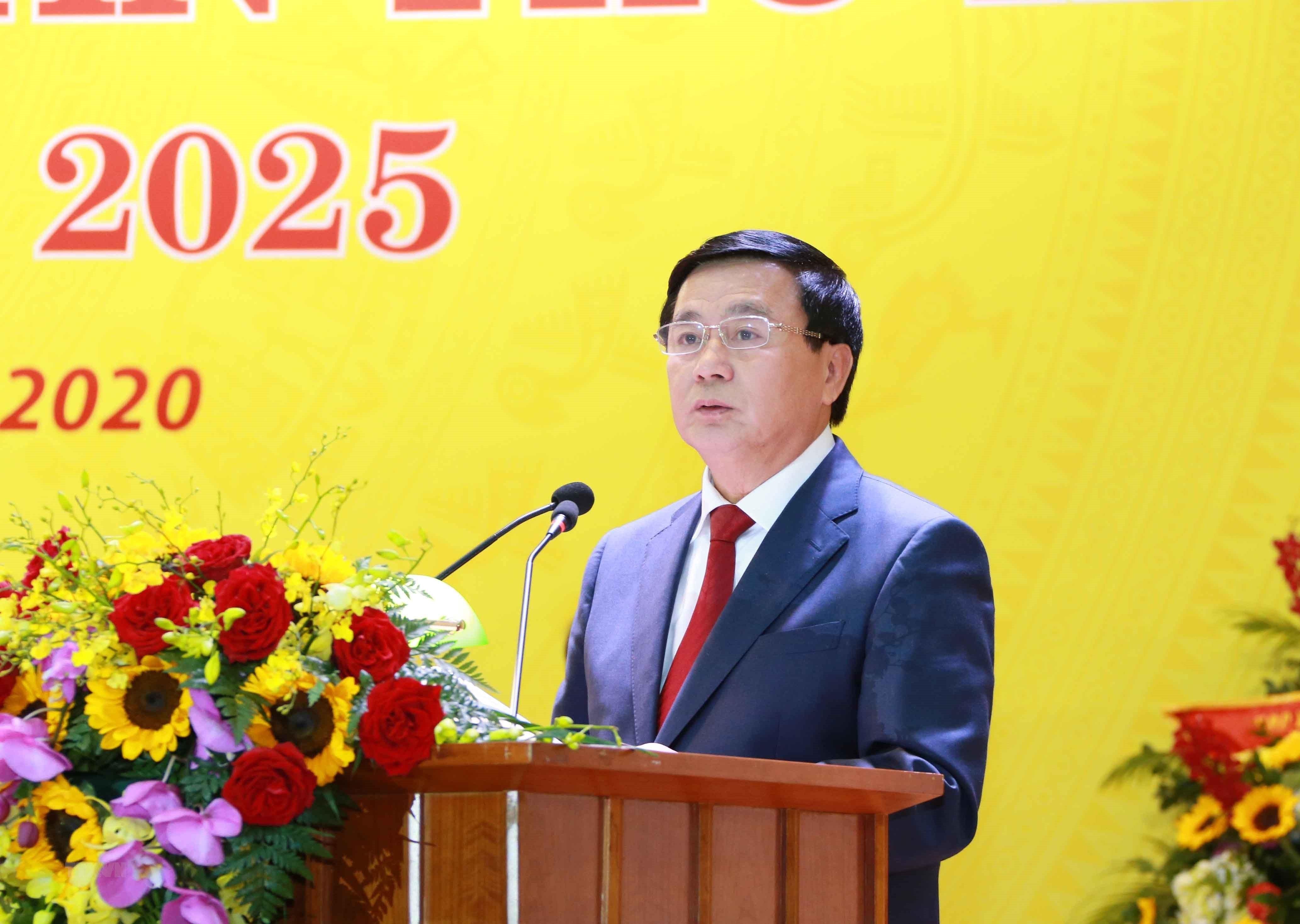 Khai mac Dai hoi dai bieu Dang bo Khoi Doanh nghiep Trung uong lan III hinh anh 1