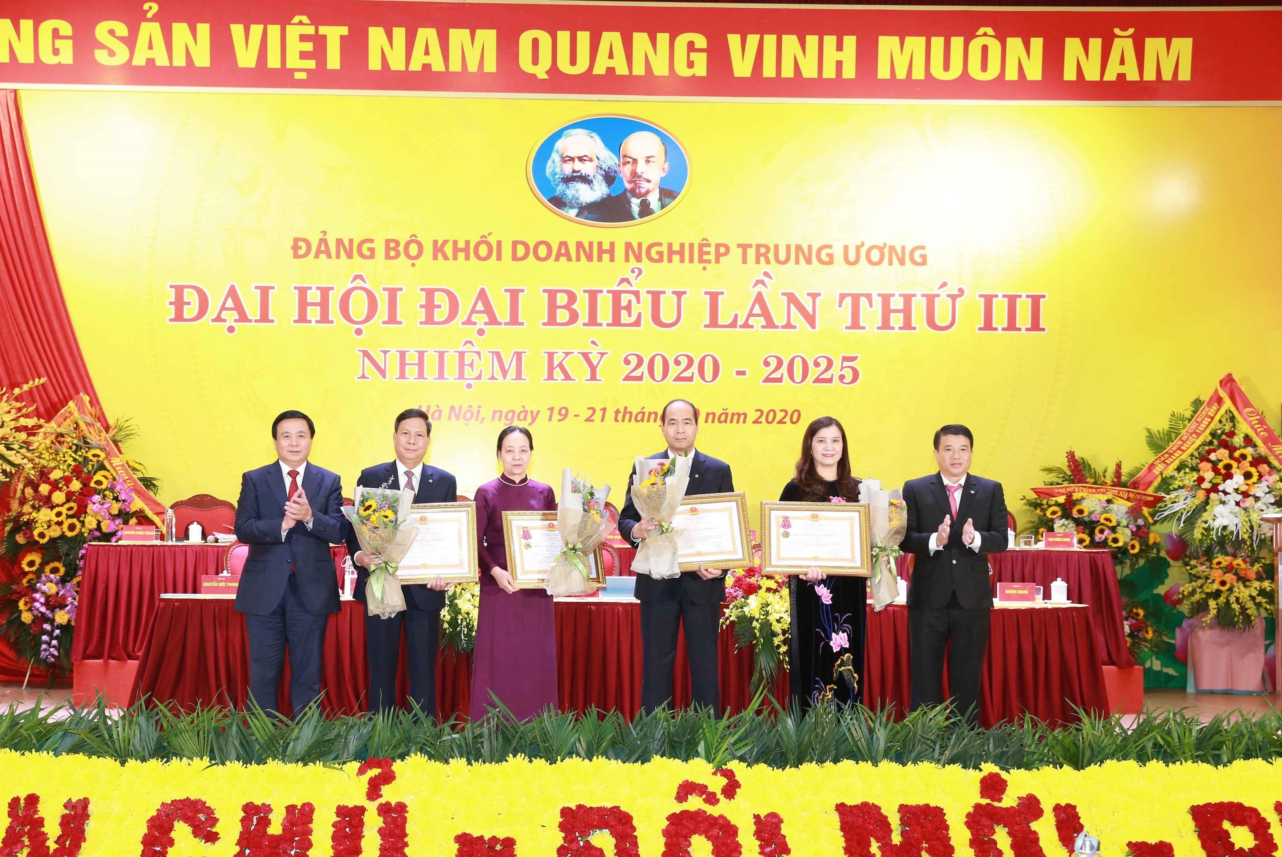 Khai mac Dai hoi dai bieu Dang bo Khoi Doanh nghiep Trung uong lan III hinh anh 2