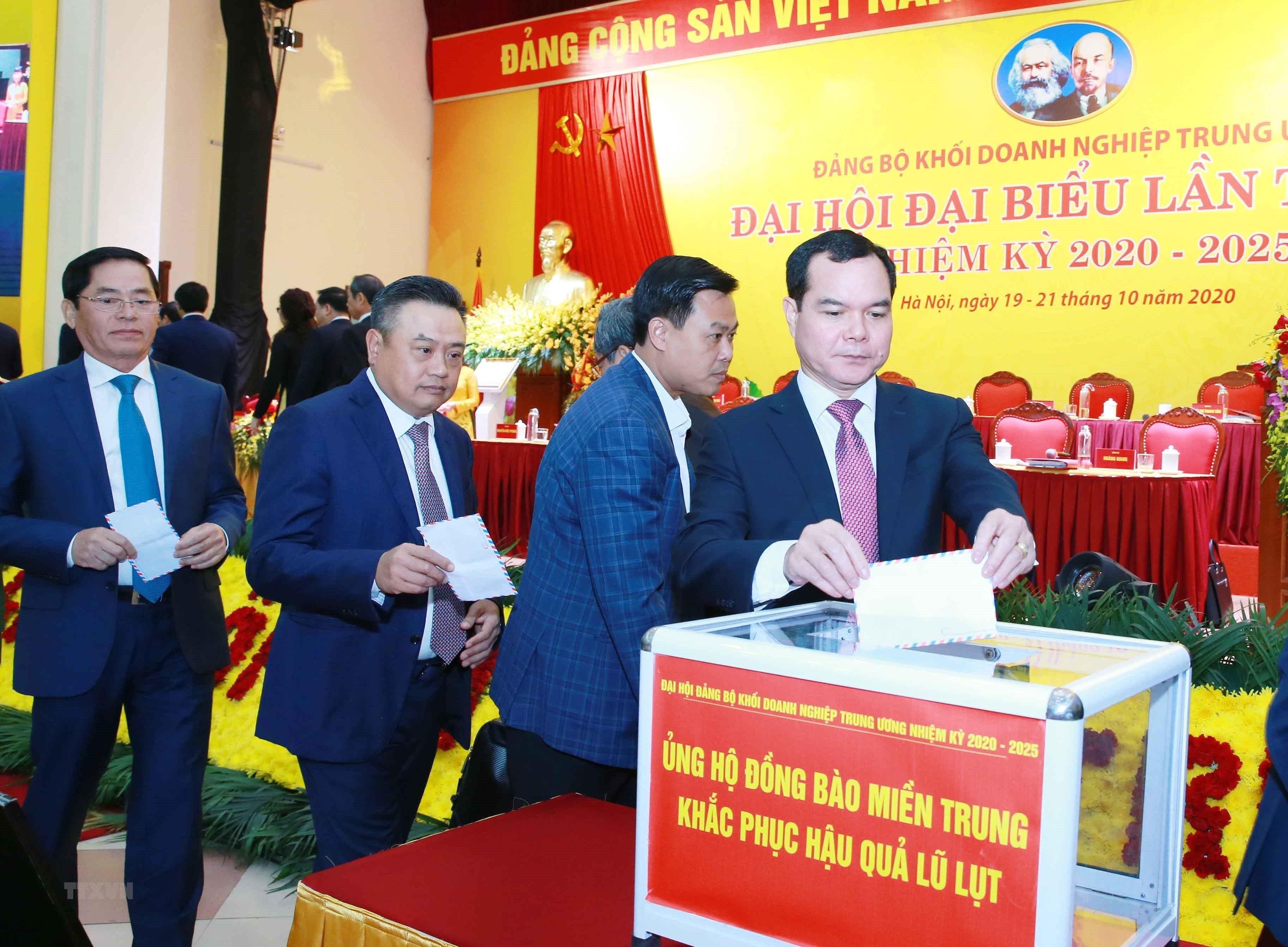 Khai mac Dai hoi dai bieu Dang bo Khoi Doanh nghiep Trung uong lan III hinh anh 3