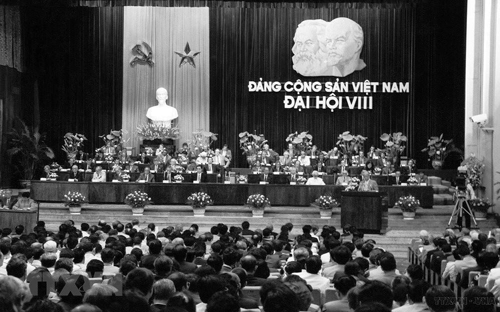 DH Dang VIII: Tiep tuc doi moi, day manh cong nghiep hoa, hien dai hoa hinh anh 1