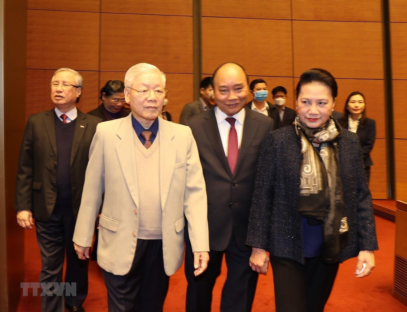 Tong Bi thu, Chu tich nuoc chi dao Hoi nghi trien khai cong tac bau cu hinh anh 4