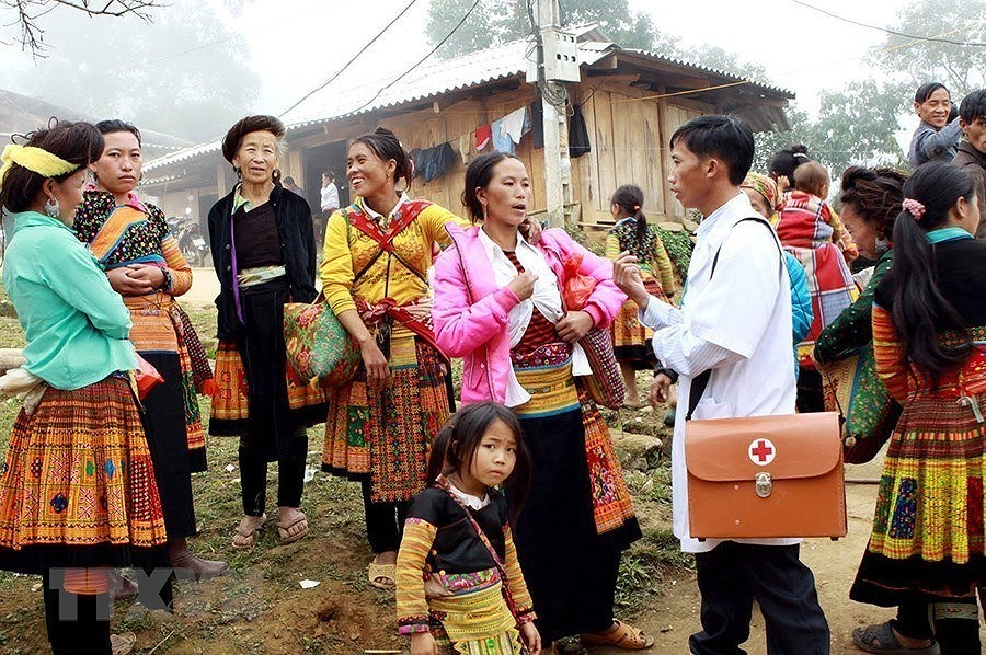 [Photo] Dai hoi Dang XII: Buoc vao ky nguyen hoi nhap va phat trien hinh anh 33