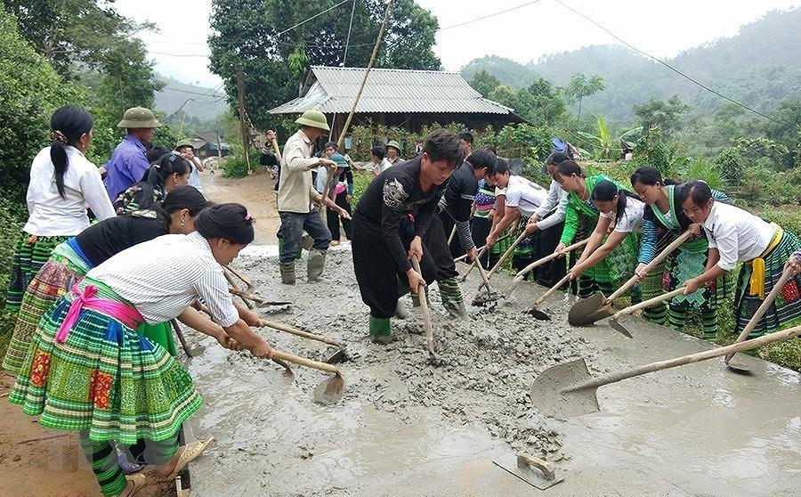 [Photo] Dai hoi Dang XII: Buoc vao ky nguyen hoi nhap va phat trien hinh anh 46