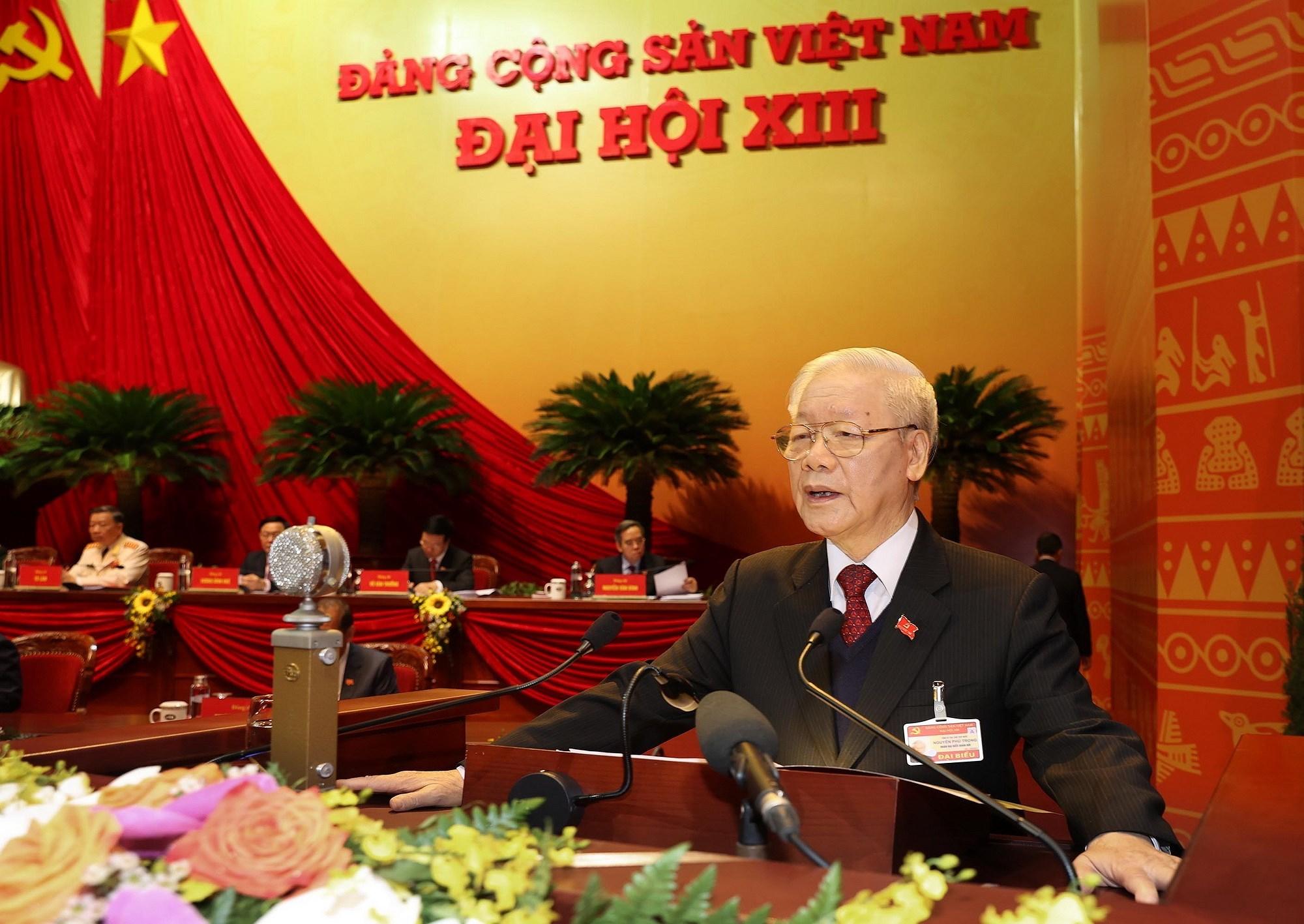 Khai mac Dai hoi Dang XIII - Dau moc quan trong trong phat trien Dang hinh anh 1