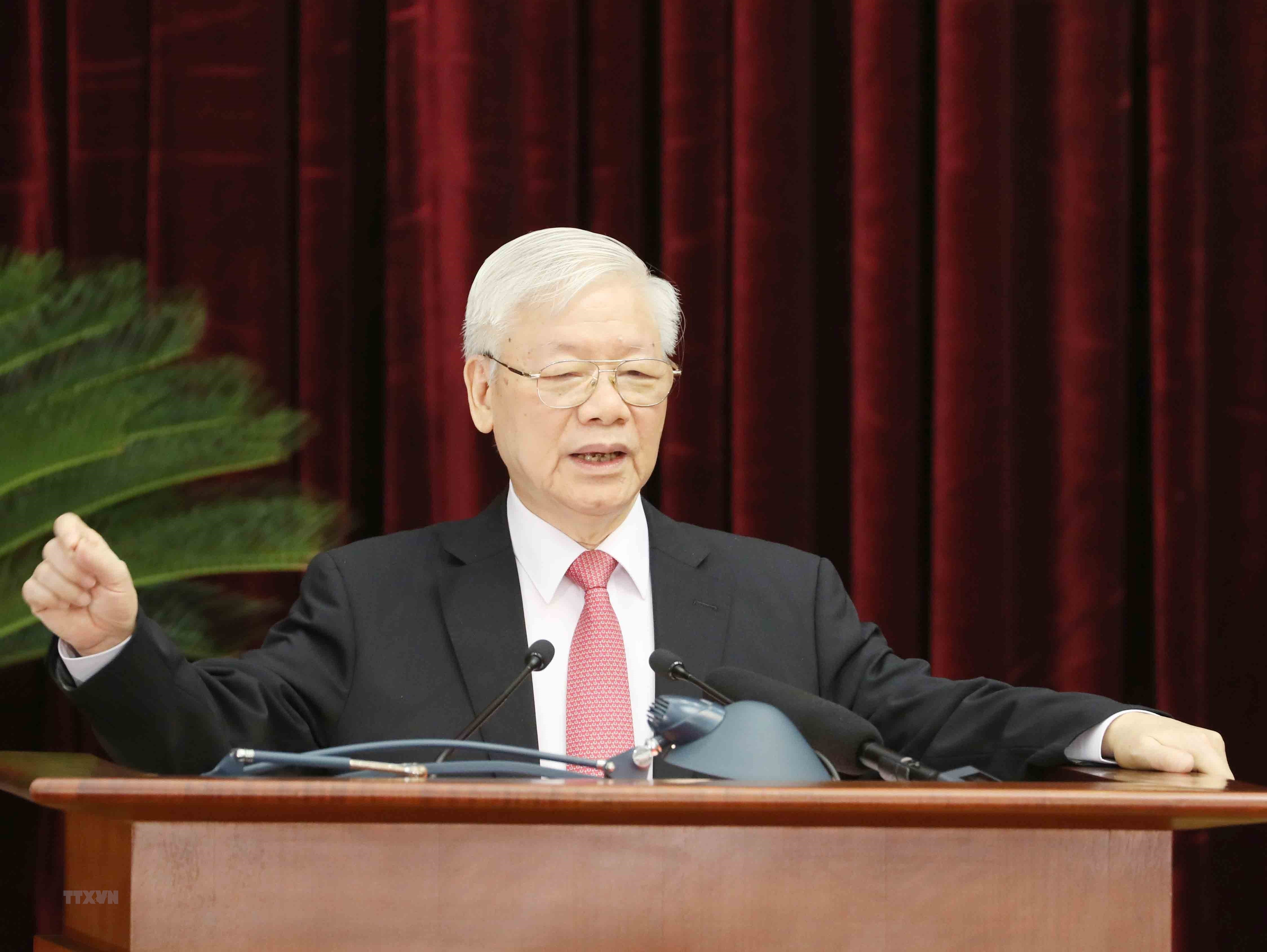 Tong Bi thu: Tien hanh thang loi cuoc bau cu dai bieu Quoc hoi va HDND hinh anh 1