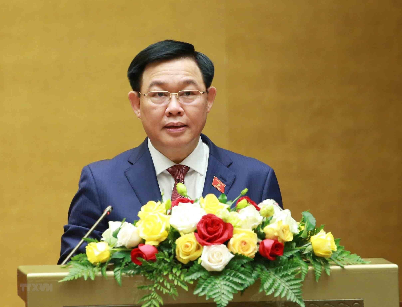 [Photo] Quoc hoi tien hanh quy trinh mien nhiem Chu tich nuoc hinh anh 3