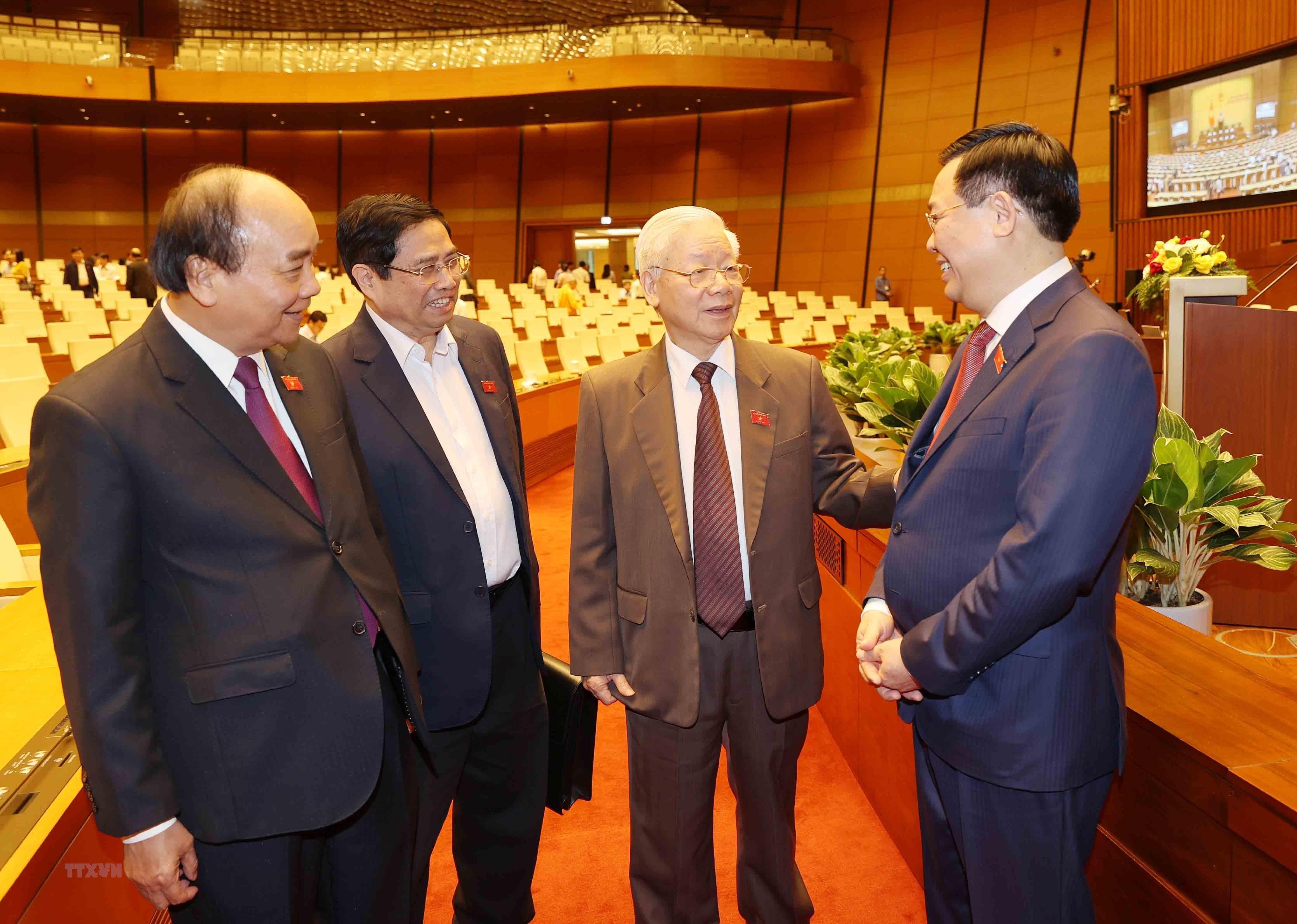 [Photo] Quoc hoi tien hanh quy trinh mien nhiem Chu tich nuoc hinh anh 4