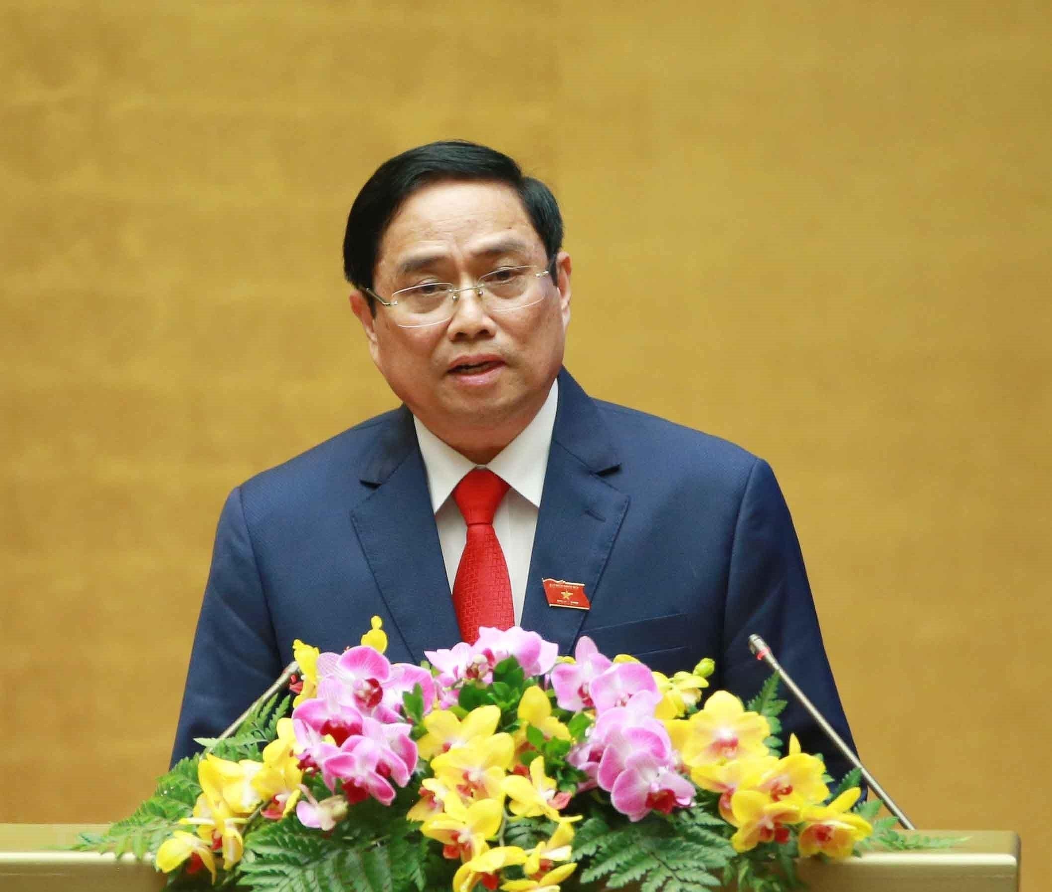 Tan Thu tuong Pham Minh Chinh: No luc doan ket, hanh dong hieu qua hinh anh 1