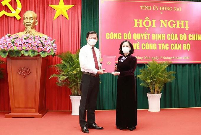 Ong Nguyen Hong Linh duoc chi dinh lam Bi thu Tinh uy Dong Nai hinh anh 1