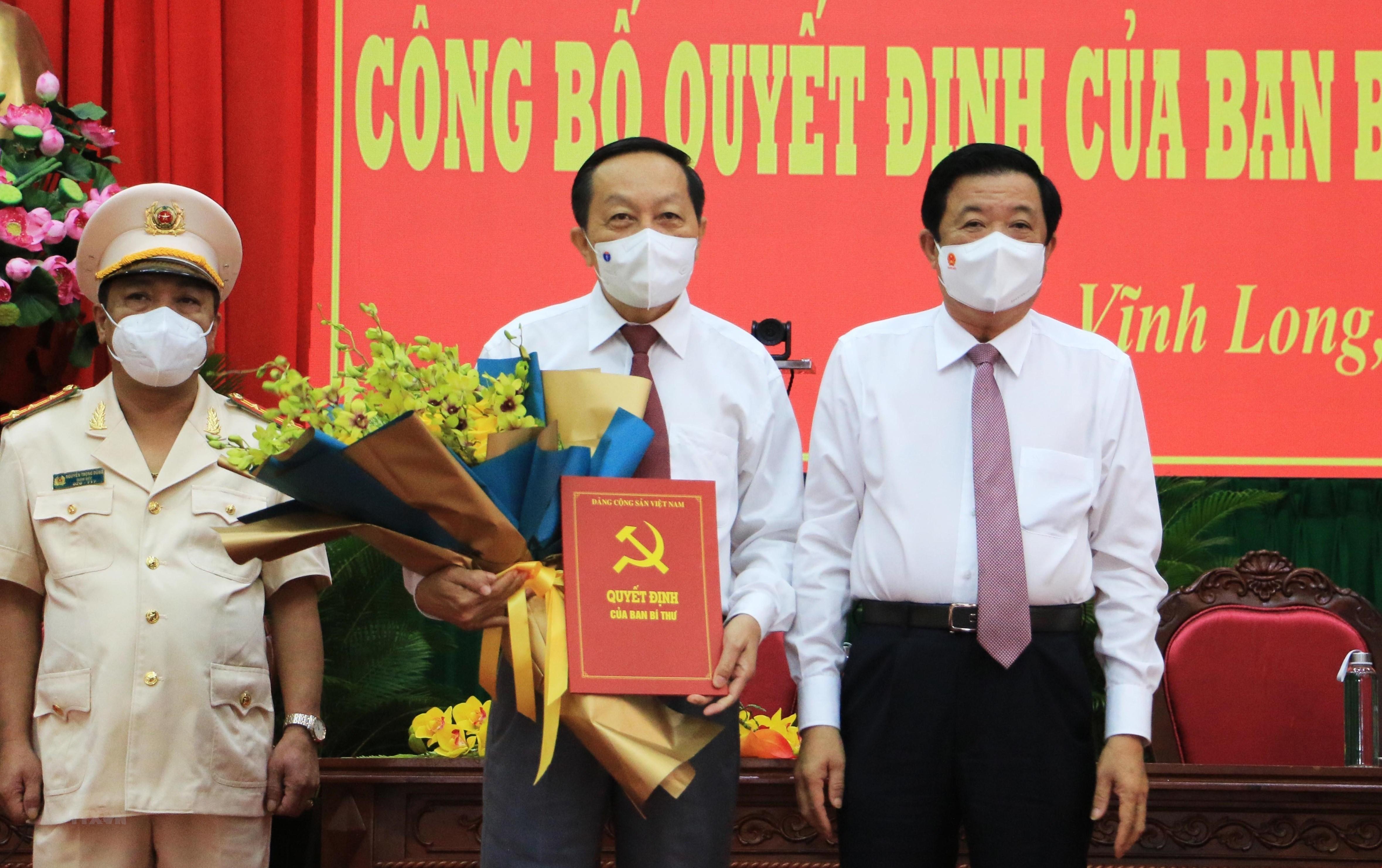 Ong Nguyen Thanh The giu chuc vu Pho Bi thu Tinh uy Vinh Long hinh anh 1