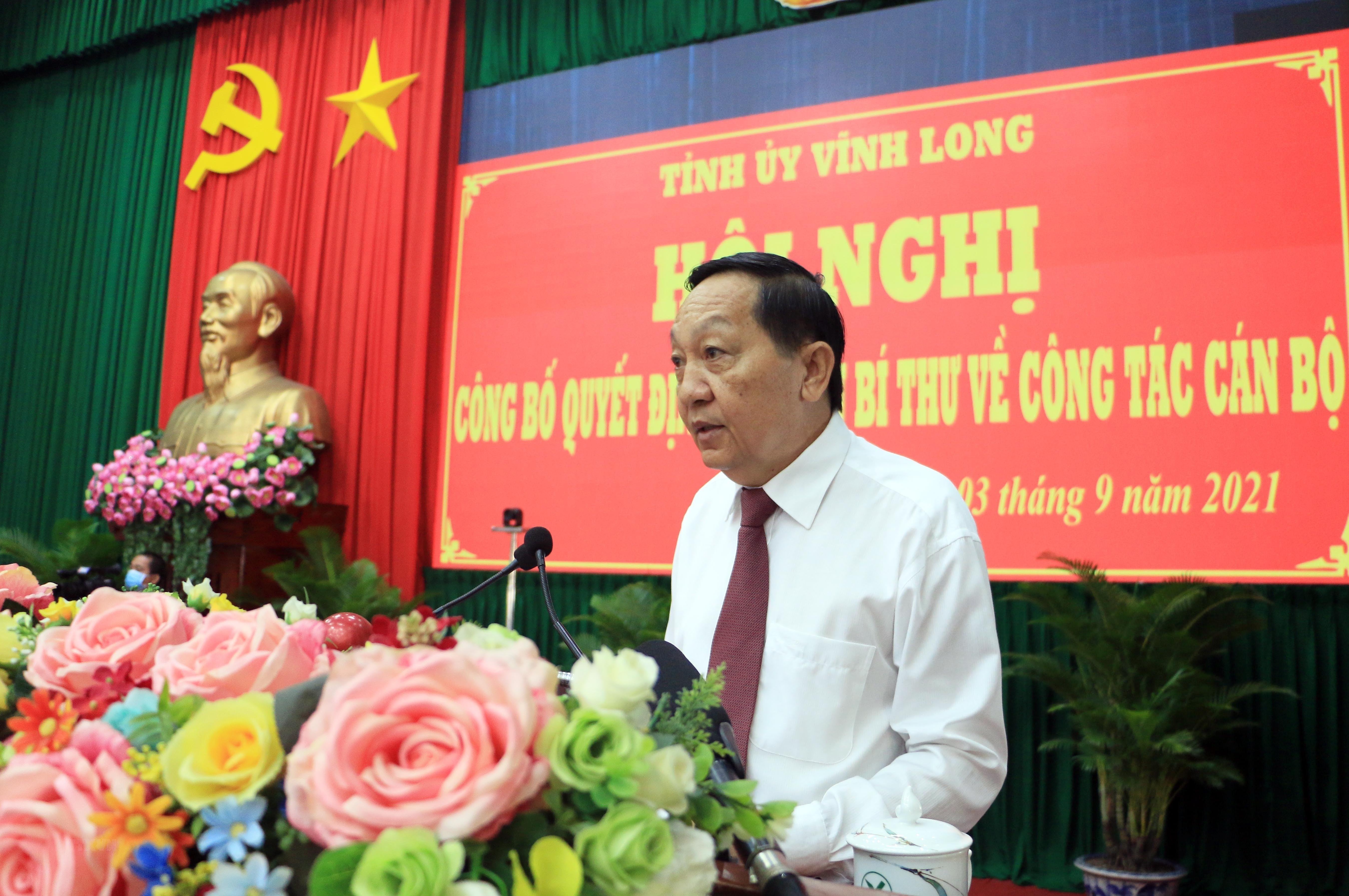 Ong Nguyen Thanh The giu chuc vu Pho Bi thu Tinh uy Vinh Long hinh anh 2