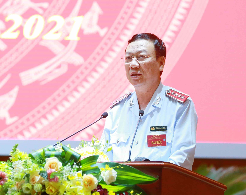 [Photo] Tong Bi thu chu tri Hoi nghi toan quoc cac co quan noi chinh hinh anh 13