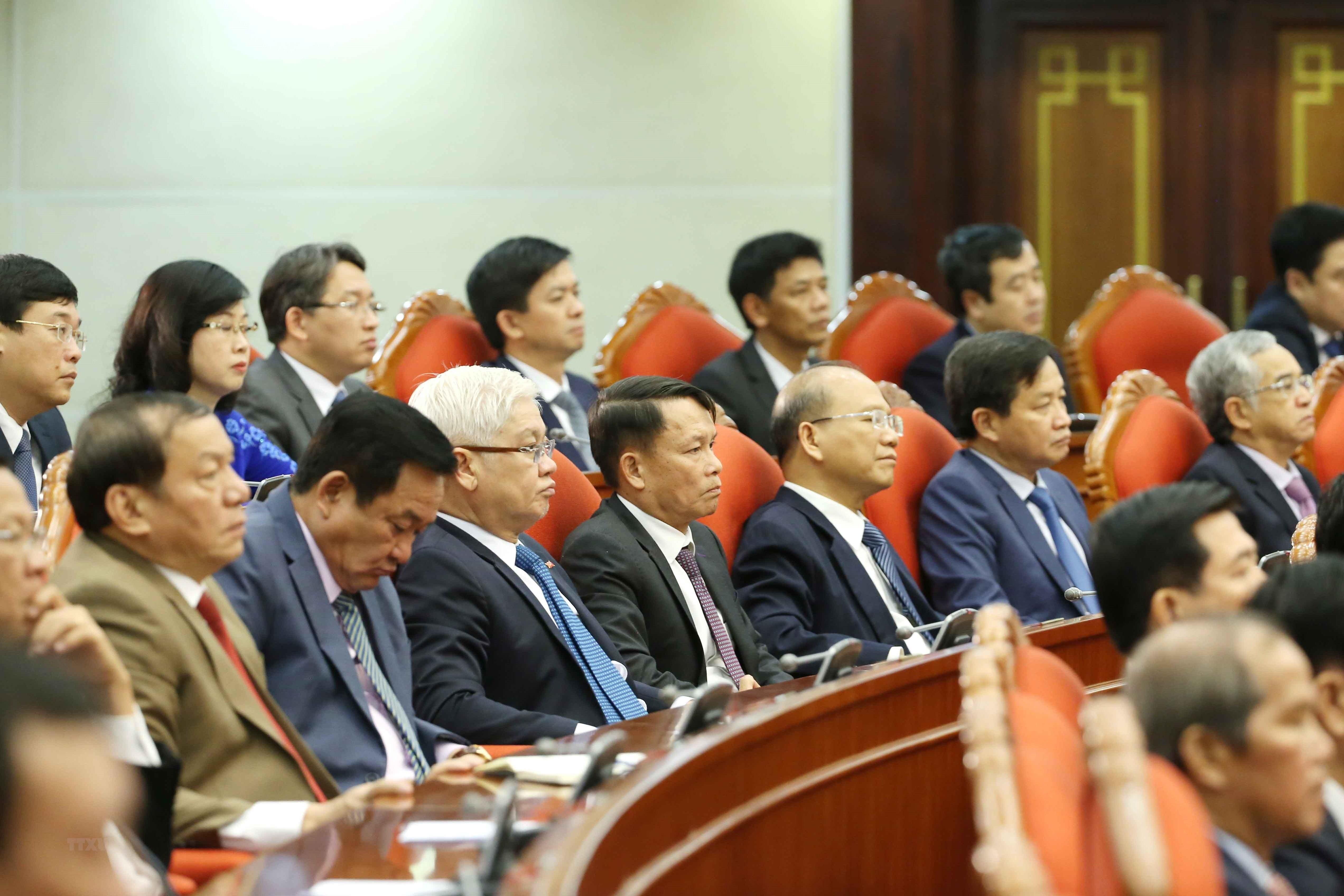 Toan van bai phat bieu be mac Hoi nghi Trung uong 12 cua Tong Bi thu hinh anh 1