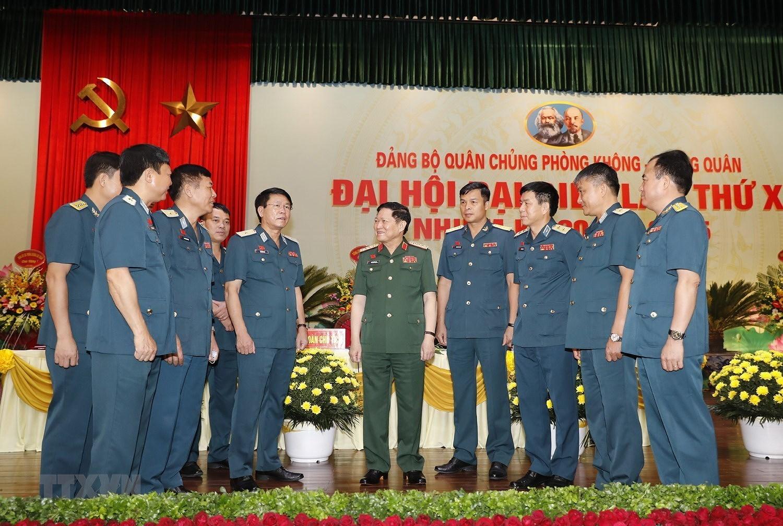 Dai hoi Dang bo Quan chung Phong khong-Khong quan lan thu X hinh anh 1