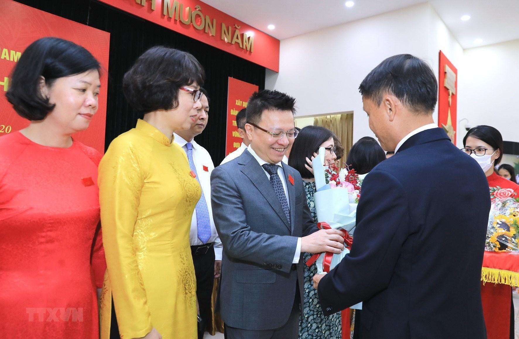 Ong Le Quoc Minh giu chuc Bi thu Dang uy TTXVN nhiem ky 2020-2025 hinh anh 2