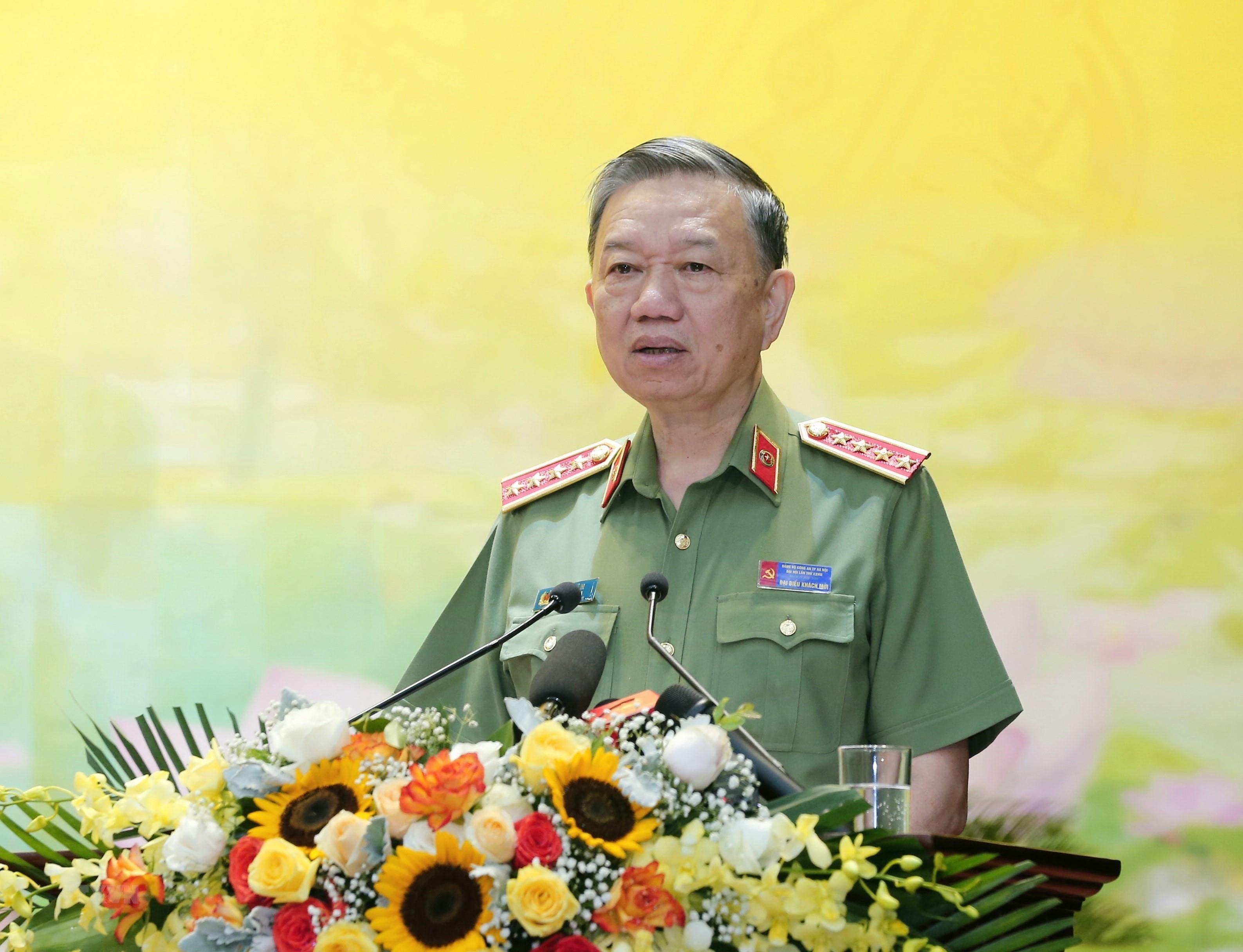 Thieu tuong Nguyen Hai Trung giu chuc Bi thu Dang uy Cong an TP Ha Noi hinh anh 1