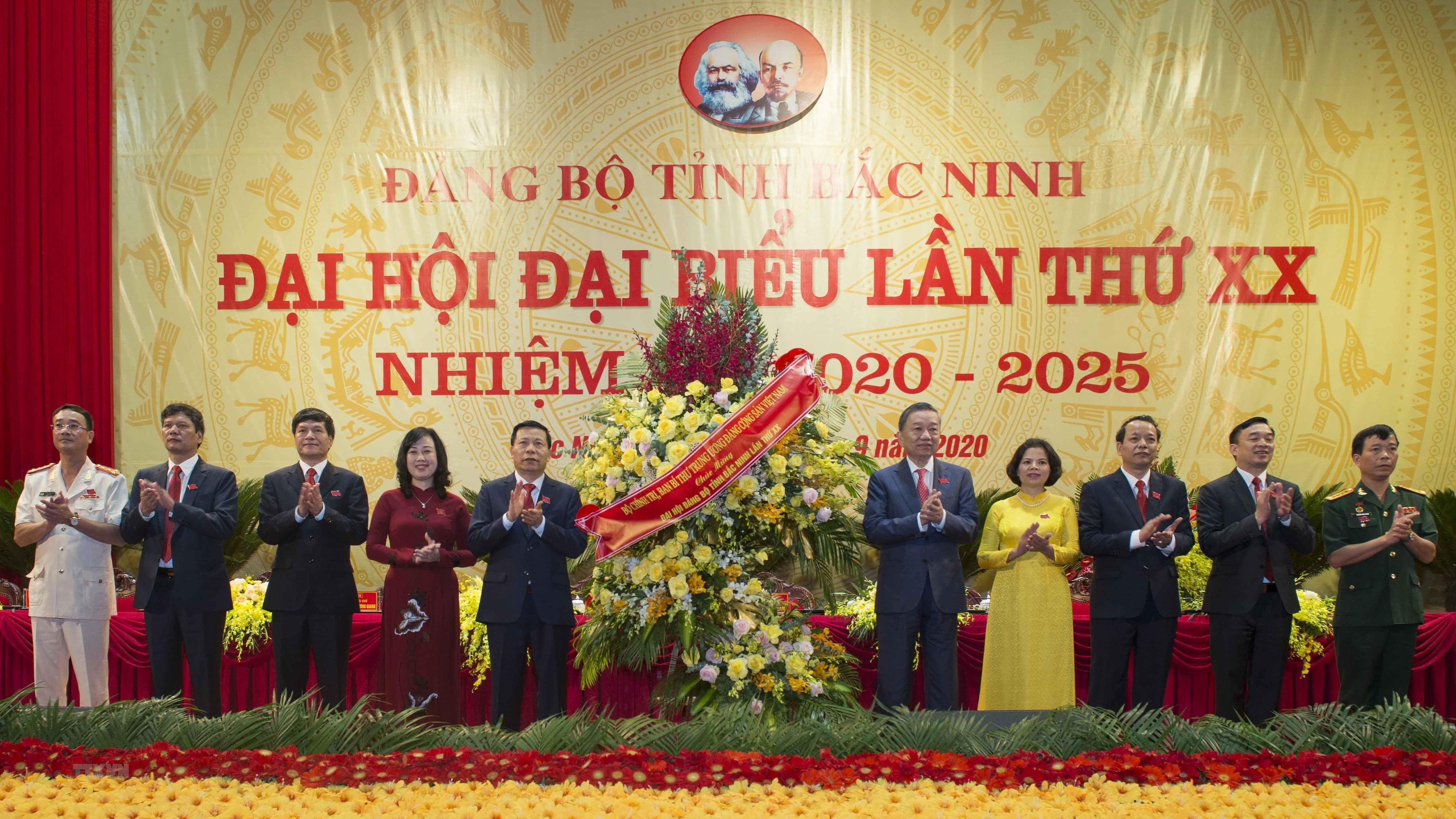 [Photo] Khai mac Dai hoi dai bieu Dang bo tinh Bac Ninh lan thu XX hinh anh 2