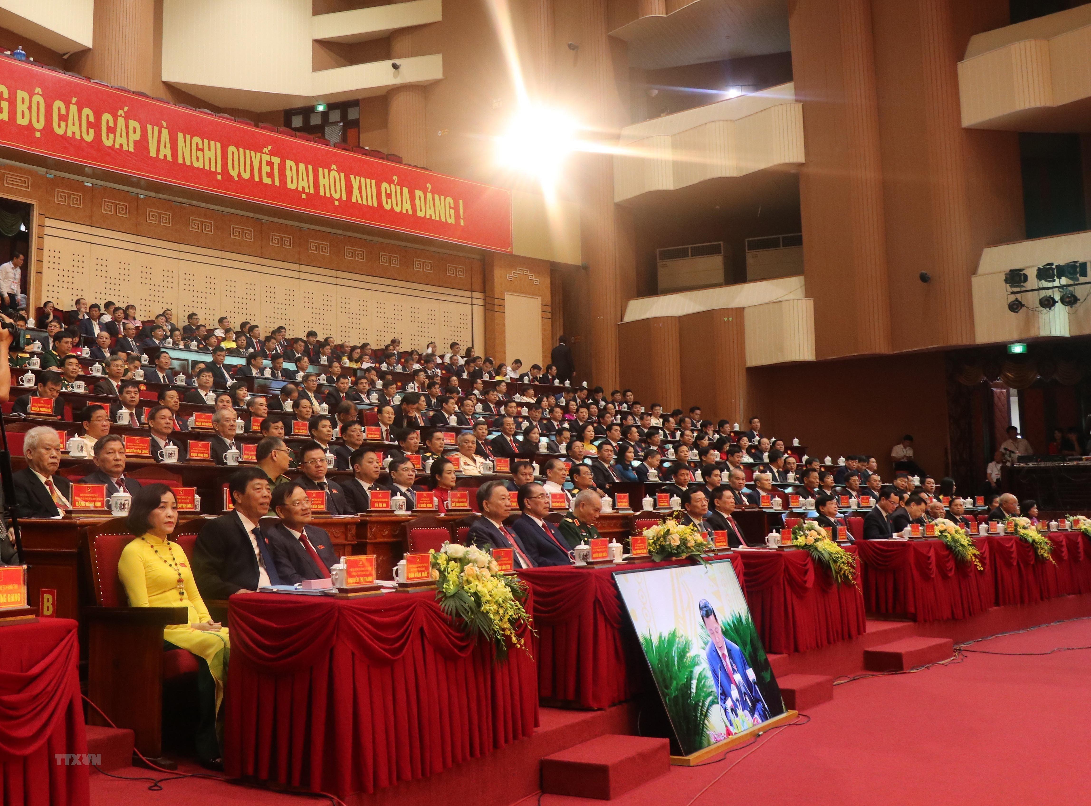 [Photo] Khai mac Dai hoi dai bieu Dang bo tinh Bac Ninh lan thu XX hinh anh 3