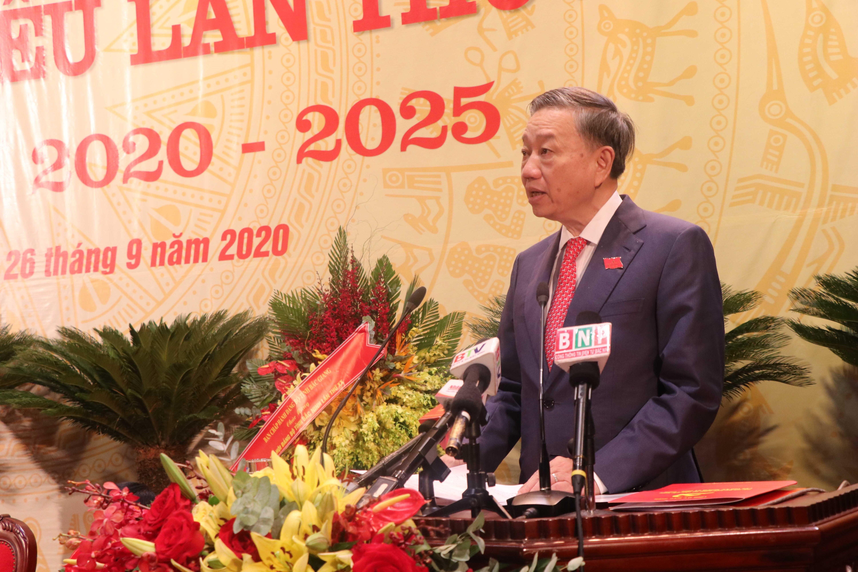 [Photo] Khai mac Dai hoi dai bieu Dang bo tinh Bac Ninh lan thu XX hinh anh 6