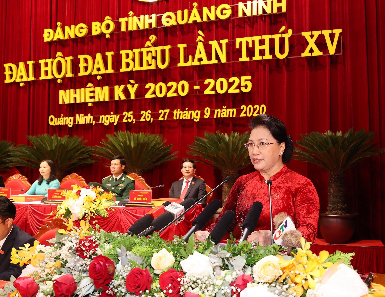 Hinh anh Dai hoi Dai bieu Dang bo tinh Quang Ninh lan thu XV hinh anh 6