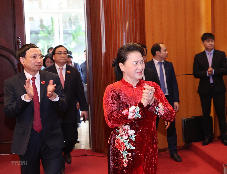 Hinh anh Dai hoi Dai bieu Dang bo tinh Quang Ninh lan thu XV hinh anh 1