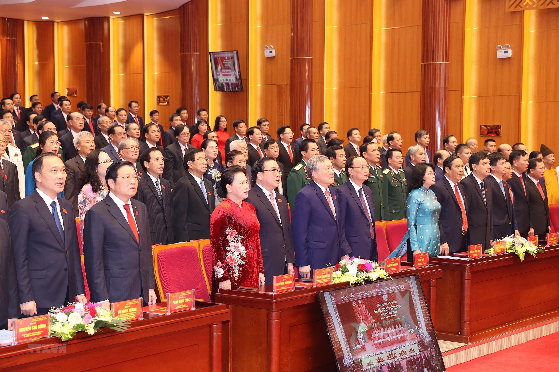 Hinh anh Dai hoi Dai bieu Dang bo tinh Quang Ninh lan thu XV hinh anh 4