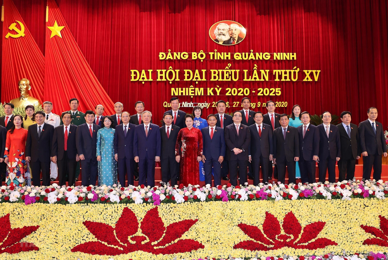 Hinh anh Dai hoi Dai bieu Dang bo tinh Quang Ninh lan thu XV hinh anh 8