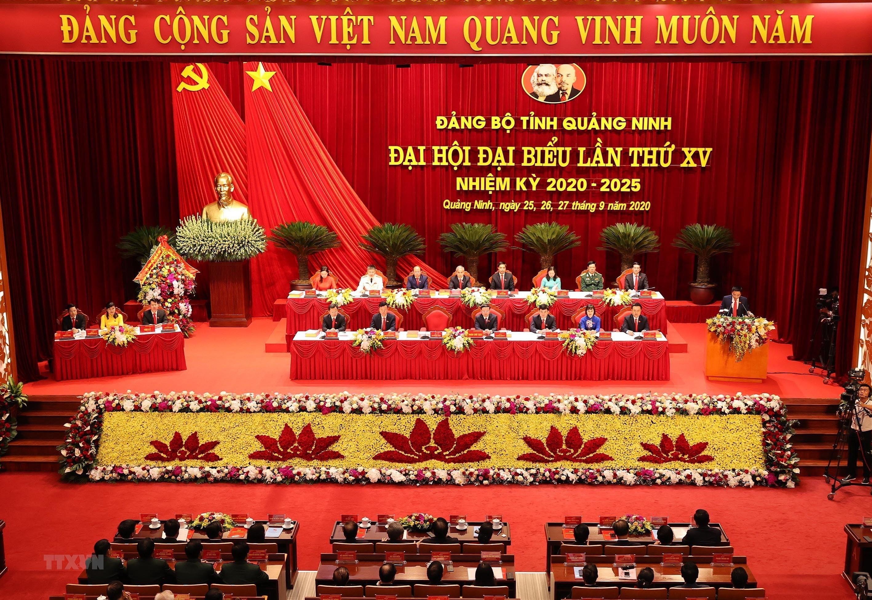 Hinh anh Dai hoi Dai bieu Dang bo tinh Quang Ninh lan thu XV hinh anh 9