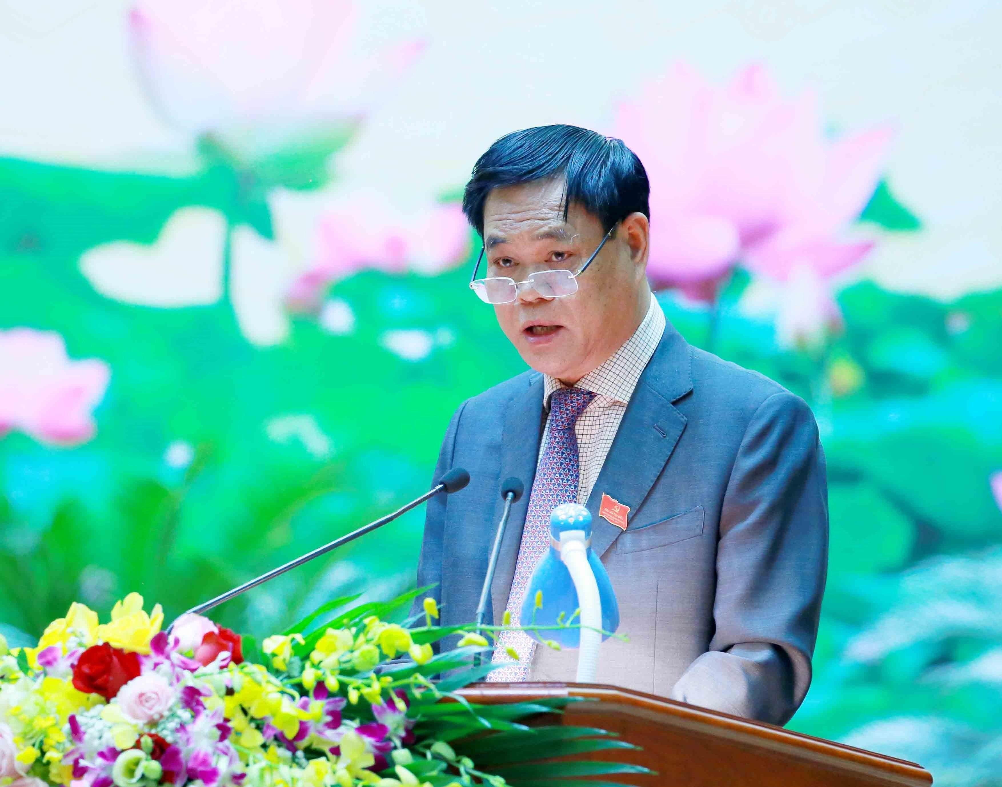 Ong Huynh Tan Viet giu chuc Bi thu Dang uy Khoi cac co quan Trung Uong hinh anh 1