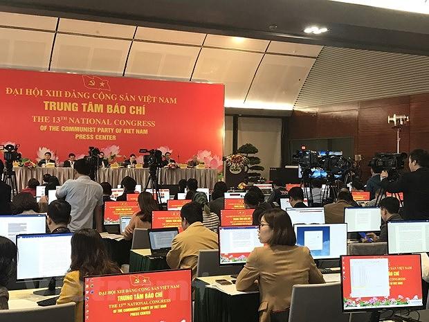 Dai hoi Dang XIII: Bao chi truyen di thong diep tich cuc ve Viet Nam hinh anh 1