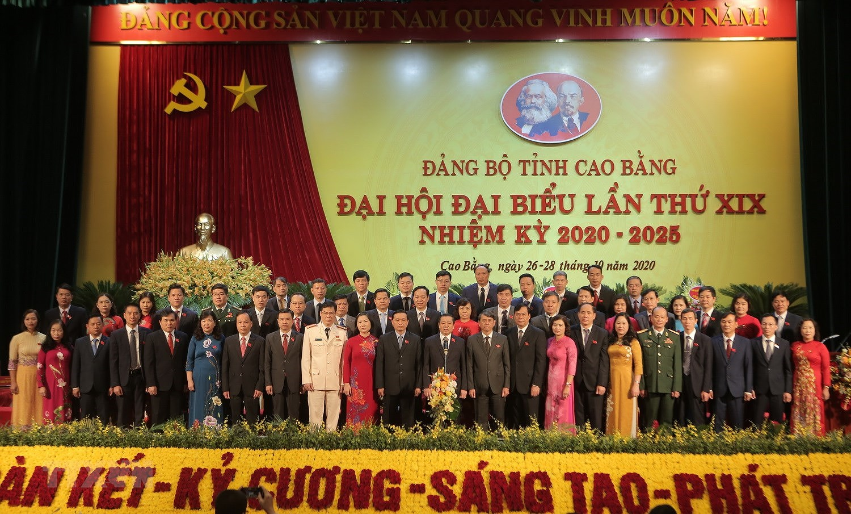 Be mac Dai hoi Dang bo tinh Cao Bang lan thu XIX, nhiem ky 2020-2025 hinh anh 1
