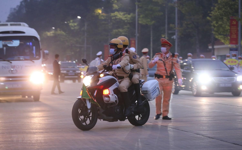 [Photo] Chuong trinh tong duyet Dai hoi toan quoc lan XIII cua Dang hinh anh 21
