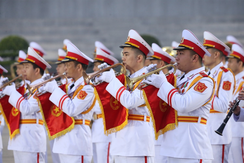 [Photo] Chuong trinh tong duyet Dai hoi toan quoc lan XIII cua Dang hinh anh 20