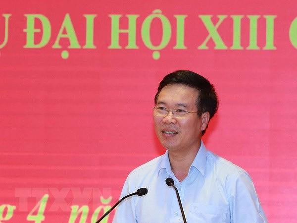 Tieu ban To chuc phuc vu Dai hoi XIII dong gop quan trong vao Dai hoi hinh anh 1