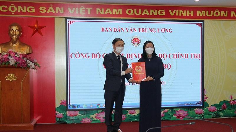 Ong Pham Tat Thang giu chuc Pho Truong ban Ban Dan van Trung uong hinh anh 1