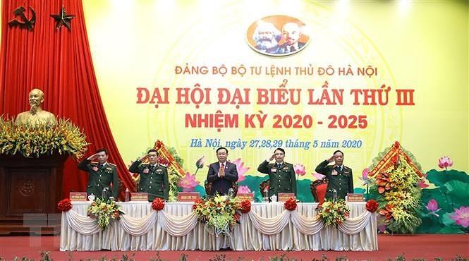 Dang bo Bo Tu lenh Thu do xay dung the tran an ninh nhan dan vung manh hinh anh 1
