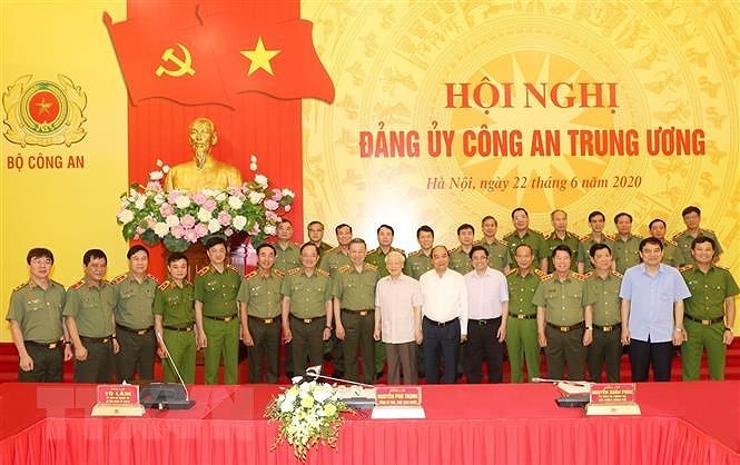 Tong Bi thu, Chu tich nuoc: Chuan bi tot Dai hoi Dang bo Cong an hinh anh 1