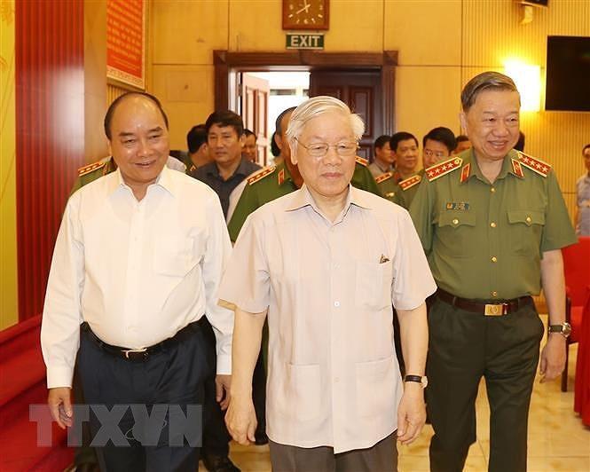 Tong Bi thu, Chu tich nuoc: Chuan bi tot Dai hoi Dang bo Cong an hinh anh 3