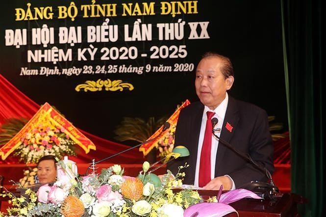 Nam Dinh phan dau den nam 2030 la tinh phat trien kha cua ca nuoc hinh anh 2