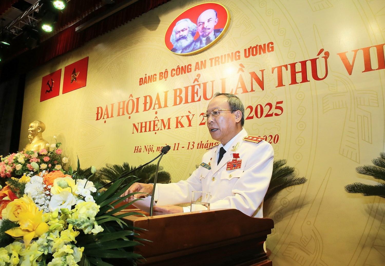 Dang bo Cong an TU tien hanh Phien tru bi Dai hoi dai bieu lan thu VII hinh anh 15
