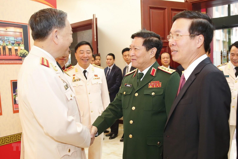 Thu tuong du Dai hoi dai bieu Dang bo Cong an Trung uong lan thu VII hinh anh 7