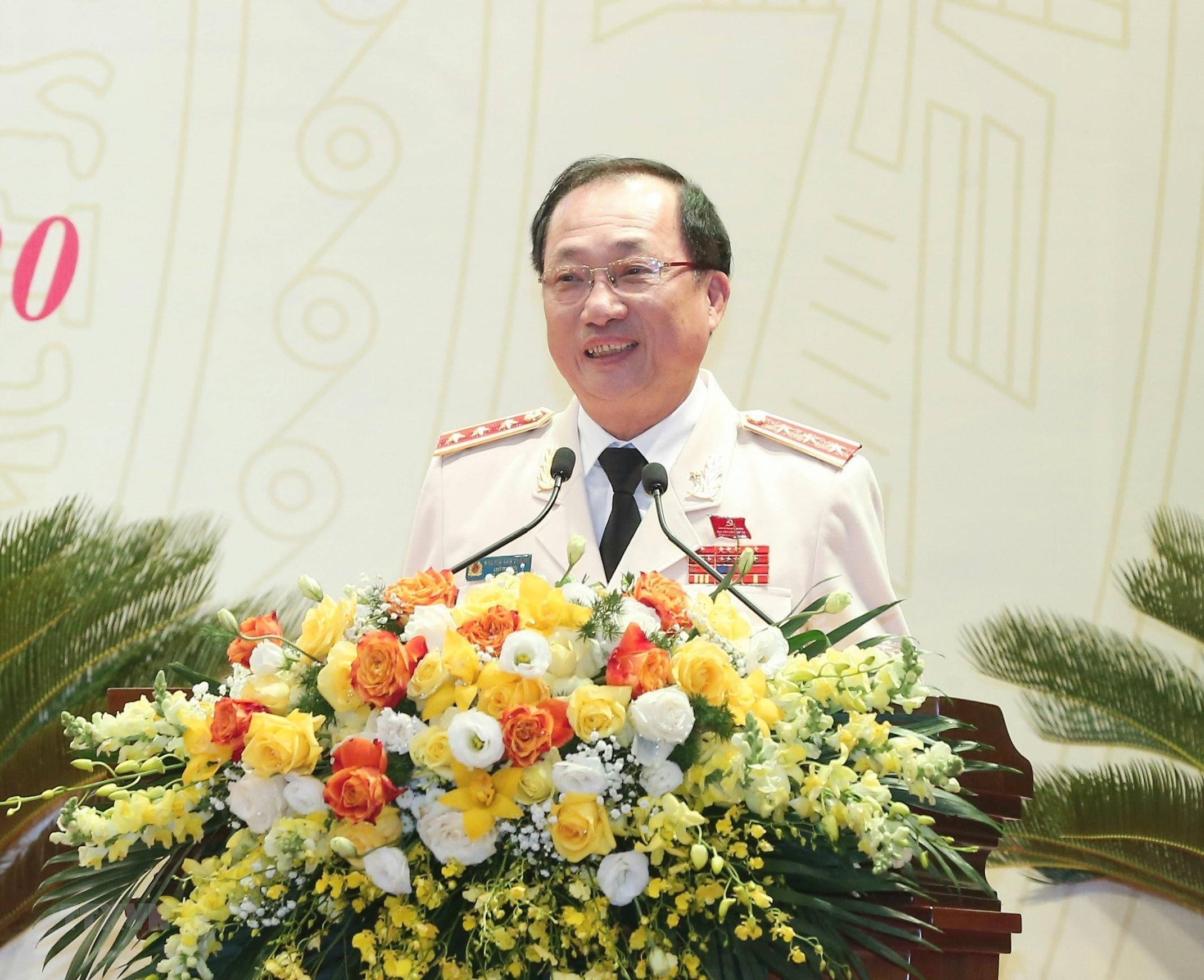 Thu tuong du Dai hoi dai bieu Dang bo Cong an Trung uong lan thu VII hinh anh 8
