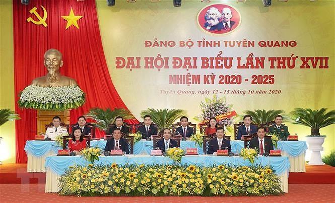 Tuyen Quang can phat trien kinh te ben vung, dam bao an sinh xa hoi hinh anh 1